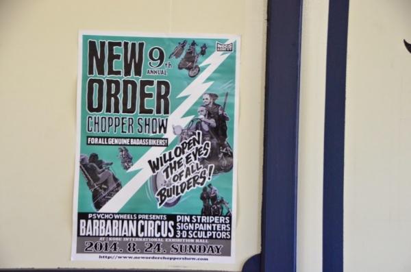「New Order Show」のポスター